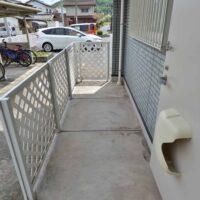 玄関横の物置スペース