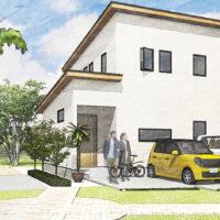 笠岡サトヤマプロジェクト美の浜 G-6号地 新築住宅