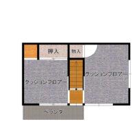 2階間取り(間取)