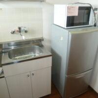 冷蔵庫、電子レンジ付き(キッチン)
